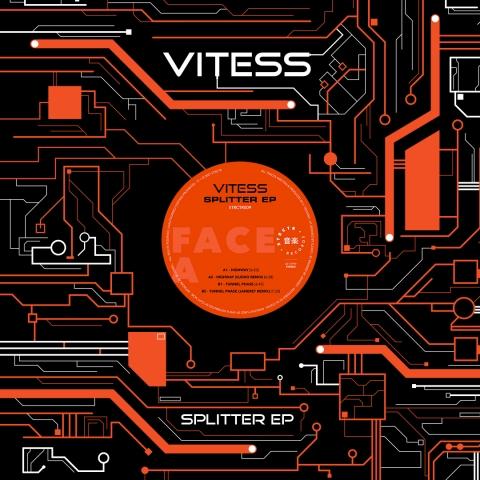 """( STRCTR 009 ) VITESS - Splitter EP (12"""") STRCTR Records"""