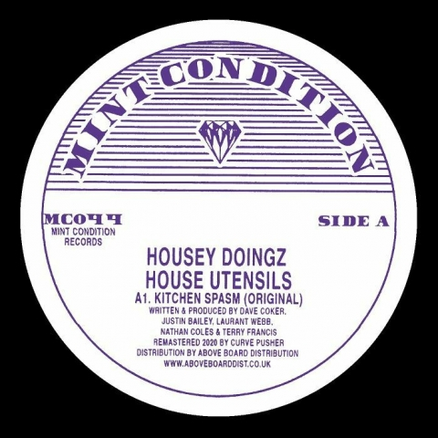 "( MC 044 ) HOUSEY DOINGZ - House Utensils (12"") Mint Condition"