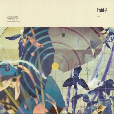 "( MOTIF 005 ) Adrian NICULAE - Consensual EP (heavyweight vinyl 12"") Motif Romania"