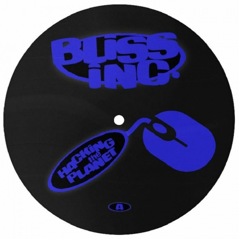 "( RADIANTLOVE 002 ) BLISS INC - Hacking The Planet EP (12"") Radiant Love Germany"