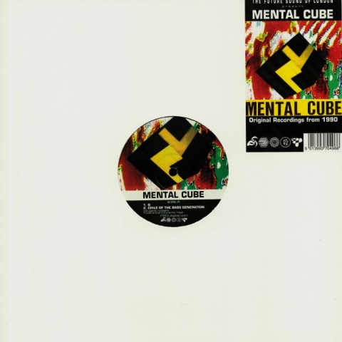 "( 12TOT 49 ) MENTAL CUBE - Mental Cube (Future Sound Of London production) (12"") FSOL Digital"