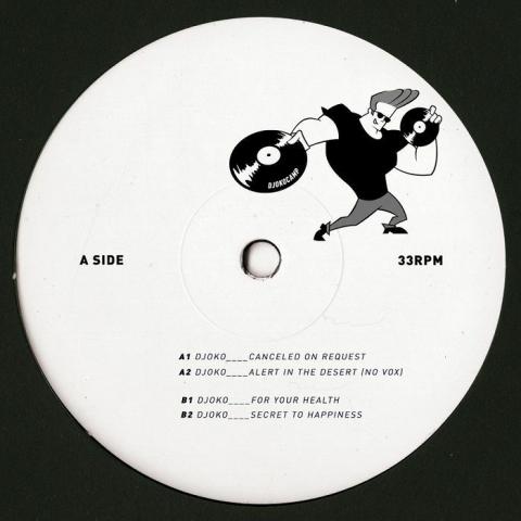 "(  DJOKOCAMPLTD 01 ) DJOKO - For Your Health (limited 12"") DJOKOCAMP"