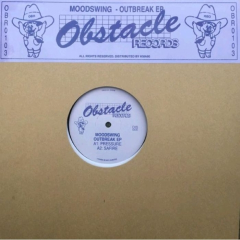"( OBR 0103 ) MOODSWING - Outbreak EP (12"") Obstacle Germany"