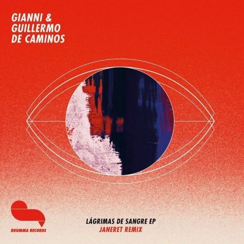 """( DRUMMA 022 ) GIANNI & GUILLERMO DE CAMINOS - Lagrimas De Sangre EP (12"""") Drumma Germany"""