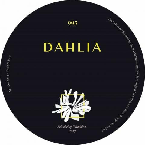"""( DAHLIA 995 ) OUD!N / PHIL BAKER / PALOMATIC - DAHLIA995 (12"""") Dahlia Barcelona"""
