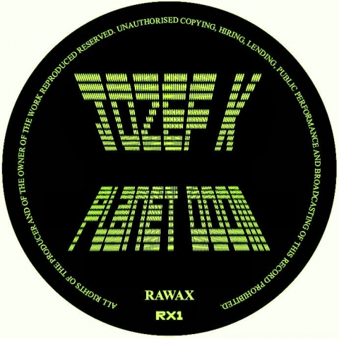 "( RX 1  ) JOZEF K - Planet Doom (12"") Rawax records"