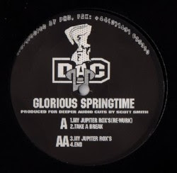 "( DAC 002 ) Scott SMITH - Glorious Springtime (limited 12"")   (1 per customer - we do not  guarantee the copy )  Deeper Audio Cuts"
