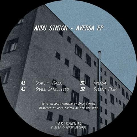 "( CAKEMAN 003 ) Andu SIMION - Aversa EP (180 gram vinyl 12"") Cakeman"