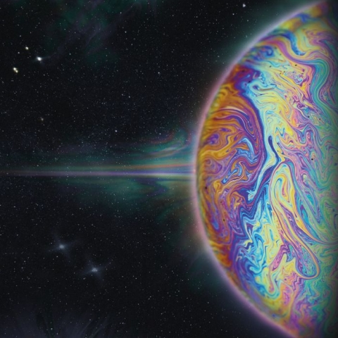 ( SL 029 ) ETHEREAL LOGIC - Intergalactic World Music (2xLP + MP3 download code) Slow Life