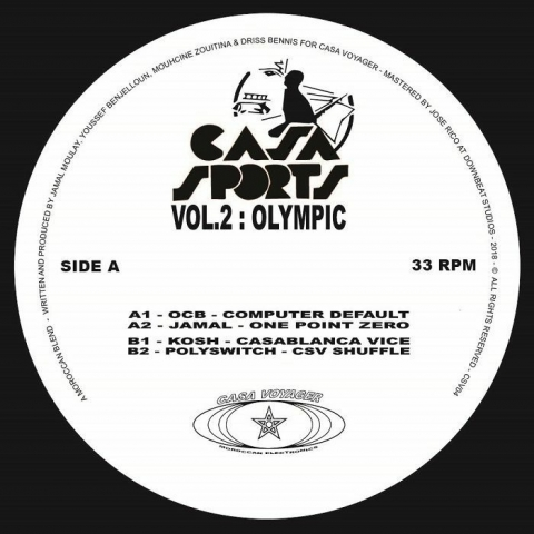 "( CSV 04 ) OCB / JAMAL / KOSH / POLYSWITCH - Casa Sports Vol 2 (12"") Casa Voyager France"