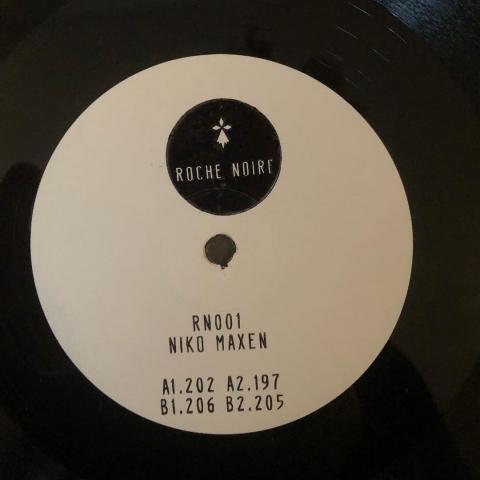 """( RN 001 ) Niko MAXEN - RN 001 (12"""") Roche Noire Germany"""