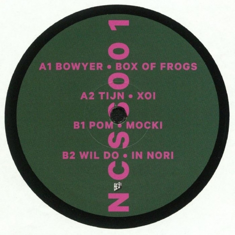 "( NCSS 001) BOWYER / TIJN / POM / WIL DO - Miles & More (12"") NCSS Germany"