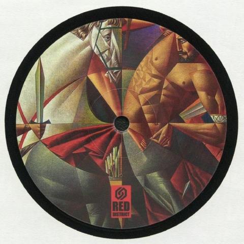 "( RDL 001 ) BRYZ / STOILKU / SHIMAMMO / PETER PORTMAN / MIKHU - RDL 001 (limited 12"") Red District"