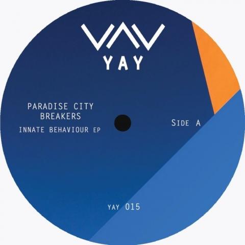 "( YAY 015 ) PARADISE CITY BREAKERS - Innate Behaviour EP (12"") Yay"