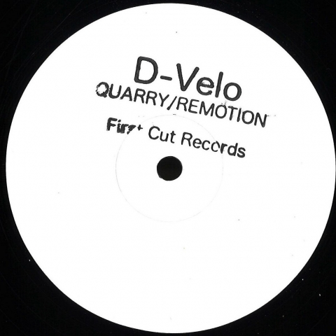 "( FC004RP ) Quarry - D-Velo/REMOTION (12"") First Cut"
