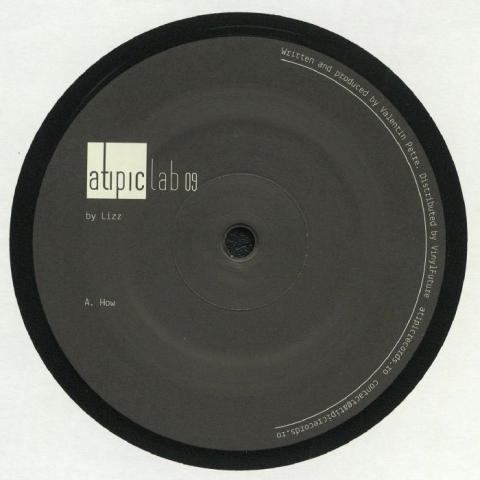 "( ATIPICLAB 009 ) LIZZ - ATIPICLAB 009 (12"") Atipic Romania"