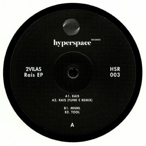 """( HSR 003 ) 2VILAS - Rais EP (12"""") Hyperspace US"""