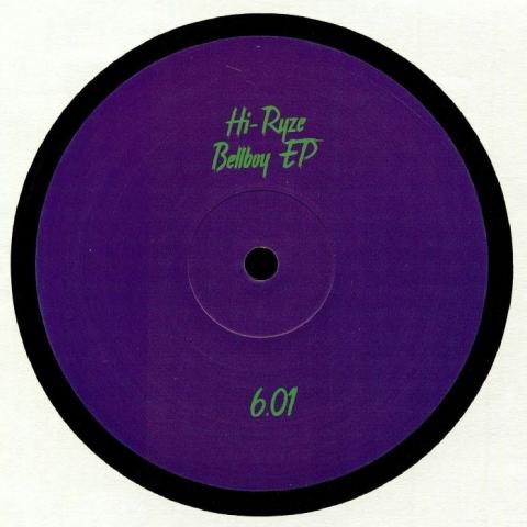 """( PARTOUT 6.01 ) HI RYZE - Bellboy EP (12"""") Partout"""