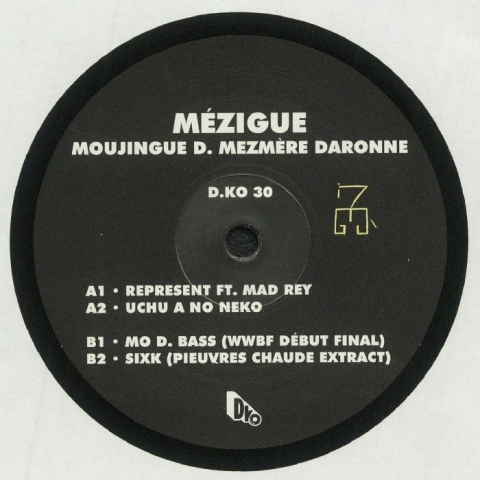 "(  DKO 30 ) MEZIGUE - Moujingue D Mezmere Daronne (12"") D.KO France"