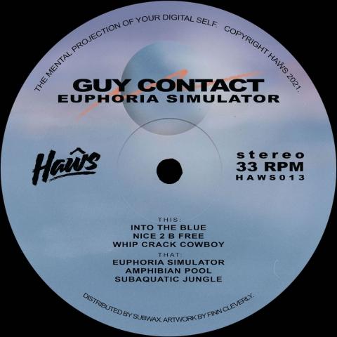 "( HAWS 013 ) GUY CONTACT - Euphoria Simulator ( 12"" vinyl ) Haws"
