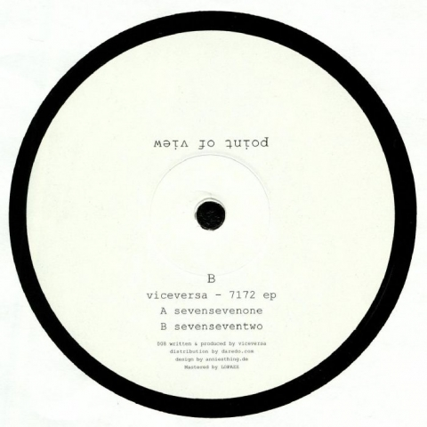 "( POINT 008 ) VICEVERSA - 7172 EP (12"") Point Of View Italy"