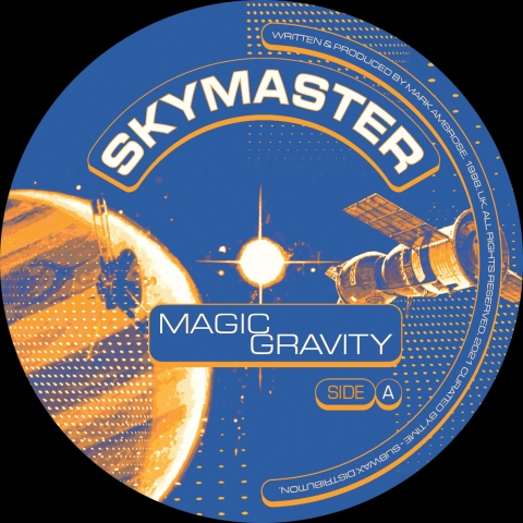 "( BYTIME 008 ) SKYMASTER - Magic Gravity (12"" Vinyl) Curated by Time"