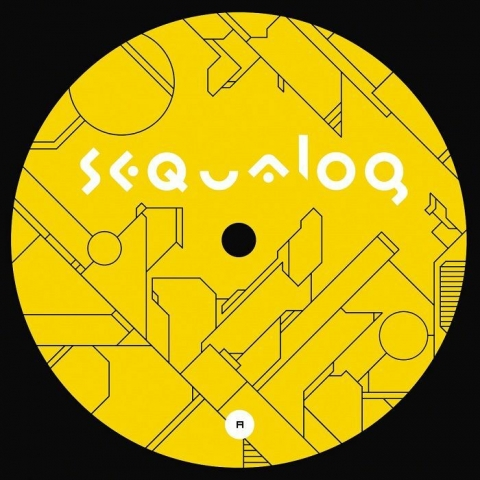 "( SEQG 006 ) ACID STATE/DUALITY - Alien Talk EP (12"") Sequalog France"