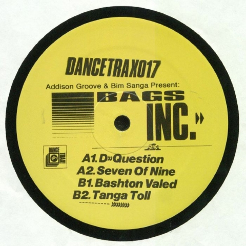 "( DANCETRAX 017 ) ADDISON GROOVE / BIM SANGA presents BAGS INC - Dance Trax Vol 17 (12"") Dance Trax"