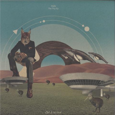 "(  CVLTD 004 )  TIJN - The Nip EP (12"") Curtea Veche"