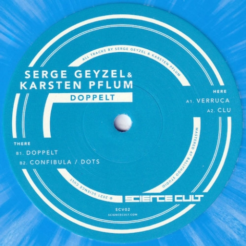 """( SCV 02 ) SERGE GEYZEL & KARSTEN PFLUM - Doppelt ( vinyl 12"""" ) Science Cult"""