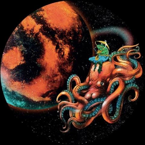 """( POO 005 ) SPACEPLANT / SICKBOY - Solar N' Deep EP (12"""") Path Of Orbit Italy"""