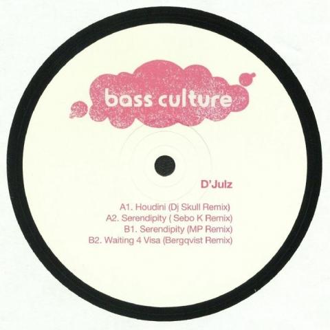 "( BCR 054T  )  D JULZ -  EP (remixes) ( 12"" ) Bass Culture France"
