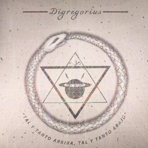 ( MOJ 04 ) DIGREGORIUS - Tal Y Tanto Arriba Tal Y Tanto Abajo (4xLP) - My Own Jupiter