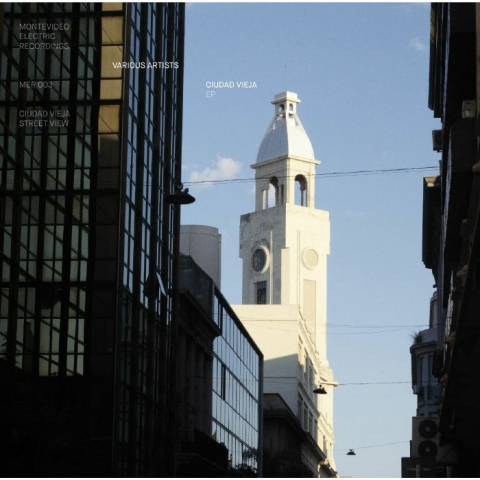 "( MER 003 ) JUAN DAIRECSHION / CABANELAS / SANTIAGO URIBE / TWO PHASE U - Ciudad Vieja EP (12"") Montevideo Electric Recordings Germany"