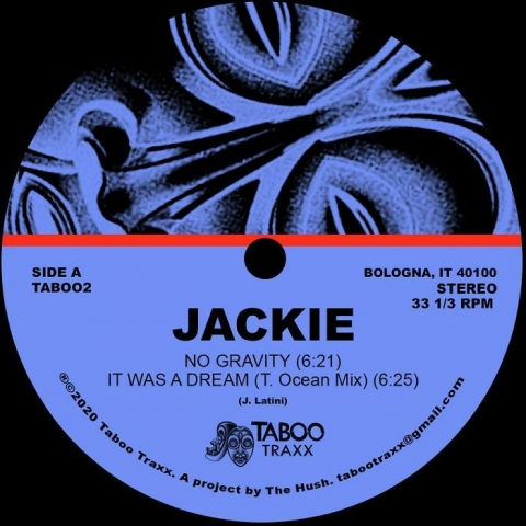 "( TAB 002) JACKIE - No Gravity EP (12"") Taboo Traxx"
