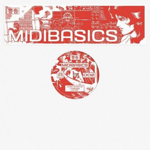 "( MIDIBASICS 002 ) MIDIBASICS - Cyber Queen EP (12"") Midibasics Germany"