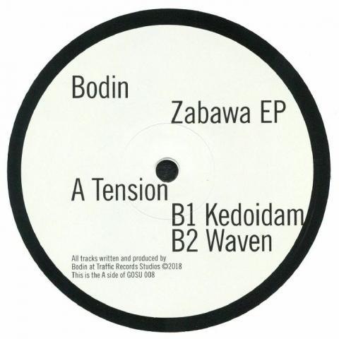 """( GOSU 008 ) BODIN -  Zabawa EP (180 gram vinyl 12"""") Gosu Germany"""