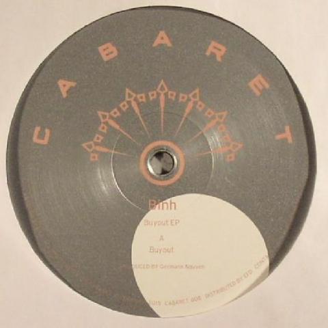 """( CABARET 008 ) BINH - Buyout EP (12"""") - Cabaret US"""