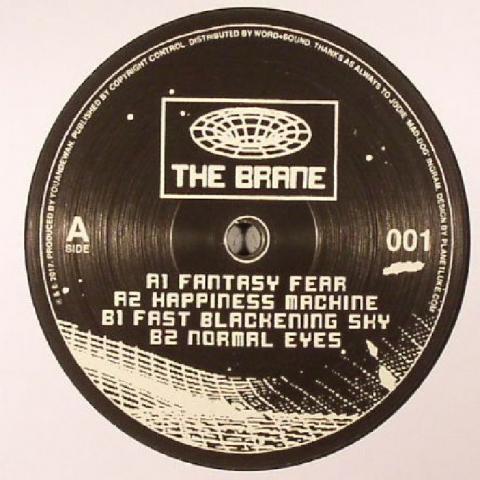 """( BRANE 001 ) YOUANDEWAN - The Brane 001 (12"""") The Brane Germany"""
