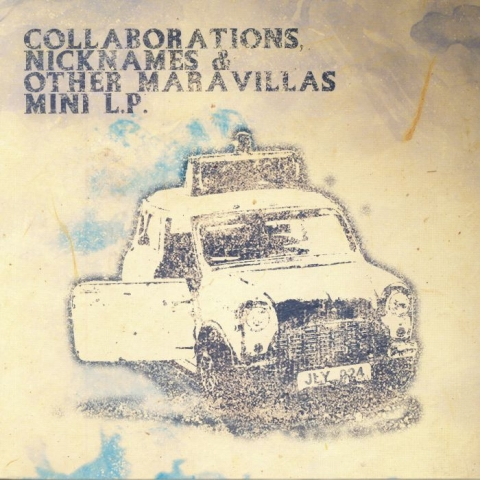 "( JLY 024 ) BAD BOYS / CRUISE ON THE VALKAN / VITO KALIMARI Collaborations Nicknames & Other Maravillas -  Mini LP (12"") Jesus Loved You Germany"