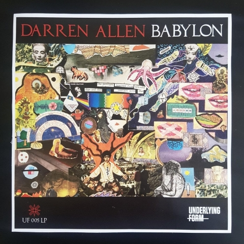 "( UF 005LP ) Darren Allen  - Babylon (2x12"") Underlying Form"
