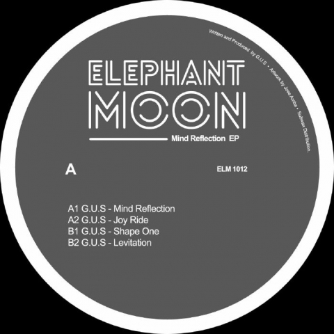 "( ELM 1012 ) GUS - Mind Reflection EP (12"") Elephant Moon"
