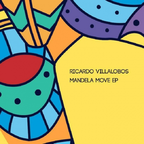 "( DESET 02 ) Ricardo VILLALOBOS - Mandela Move EP (double 12"") Deset Germany"