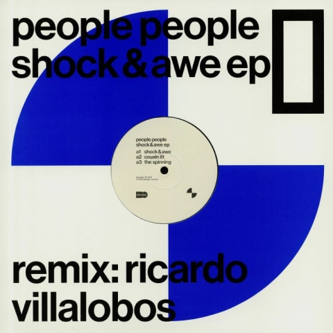 "( DISCOBAR 13 ) PEOPLE PEOPLE - Shock & Awe EP (12"") Discobar"