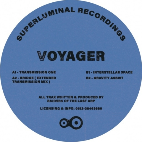 "( SUPLU 004 ) Raiders Of The Lost Arp - Voyager EP (12"") Superluminal Recordings/Berlin"