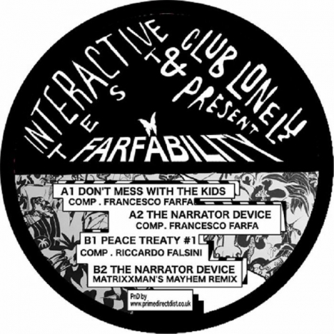 "( CL 07 ) FRANCESCO FARFA - Farfability (12"") Club Lonely"