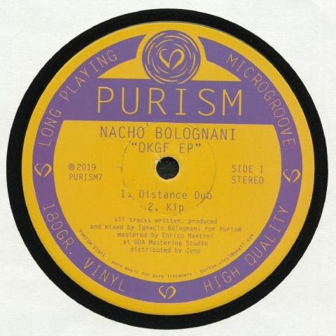 "( PURISM 7 ) Nacho BOLOGNANI - DKGF EP (180 gram vinyl 12"") PURISM"