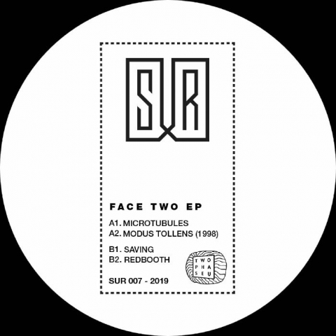 "( SUR 007 ) TWO PHASE U - Face Two EP (hand-stamped 12"") Sur Berlin"