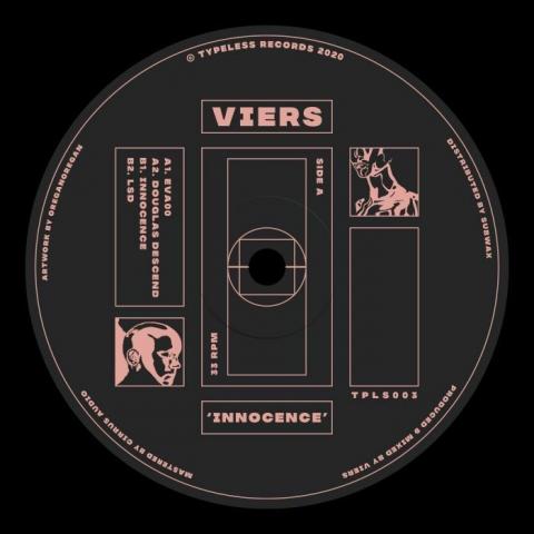 "( TPLS 003 ) VIERS - Innocence (12"") Typeless"