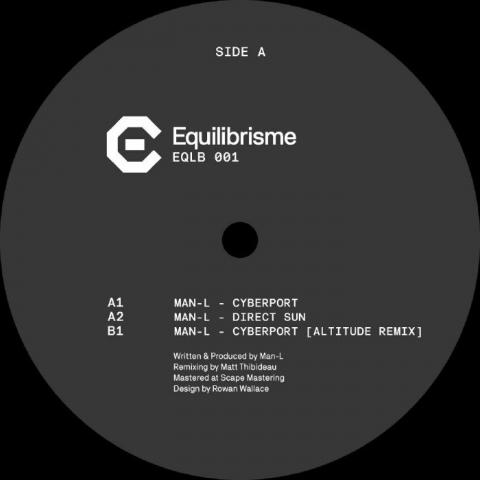 "( EQLB 001 ) MAN L - Cyberport EP (12"") Equilibrisme"